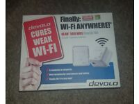Devolo dLAN 500 WiFi Starter Kit – Brand New in Box, RRP: £79.99