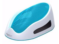 Angelcare Soft Touch Bath Support - Aqua - Excellent Condition