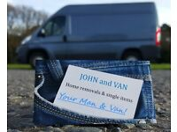 JOHN and VAN – Home & House Removals - Quotes start from £19! ( Cheap & Quality Man and Van service)