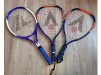 Three Racketball Rackets With Covers - UK Delivery available