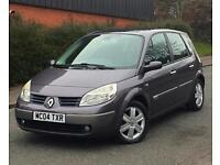 2004 04 Reg Renault Scenic Dynamique Pano Roof 1.6 Petrol 5dr 2 Keys & Service History