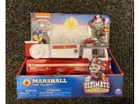 Paw patrol, Marshall ultimate rescue