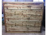WAYNEYLAP TANALISED WOODEN FENCE PANELS ~ HIGH QUALITY 🌳