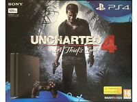 BNIB PS4+Uncharted 4 game