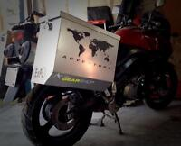 MOTORCYCLE LUGGAGE FOR YAMAHA SUPER TENERE!