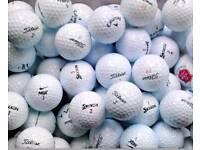 150 Branded used golf balls including Titleist, Nike, Pinnacle etc