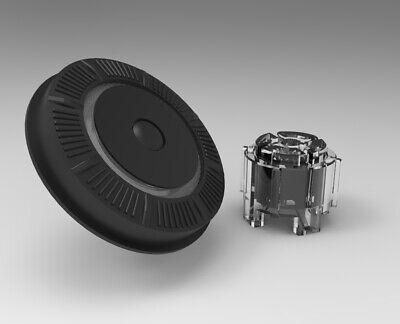 NEW! Raymarine C90w C120w C140w Rotary Dial UniController Key Black w/ actuators