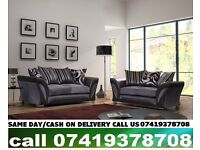 SHARNAN Best QUALITY -- SEHANION CORNER or 3 AND 2 SEATER SOFA SUITE -- ORDER NOW