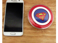 Sumsung Wireless Charging Pad (Superman)