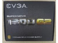 EVGA 1300G2 Supernova 1300W Power Supply PSU 1300 Watts Motherboard Graphics Card Memory RAM CPU