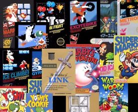 £££ cash paid - I am looking for a NINTENDO NES collection. Games, console, and accessories.