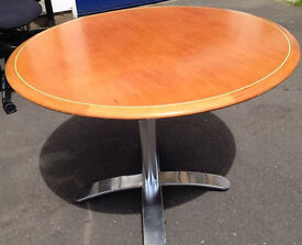 office round table meeting board room dining table