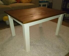 Lovely coffee table - bespoke made.