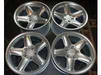 17'' GENUINE Staggered AC Schnitzer Alloy wheels, Type I, 5x120