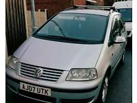 Vw sharan tdi auto 7 seater hpi clear tax tested