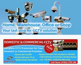 Ultra HD Quality cctv camera with free installation.