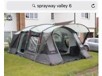 Sprayway Valley 6 berth tent ( poly cotton version )