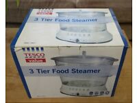 TESCO 3 tier food steamer