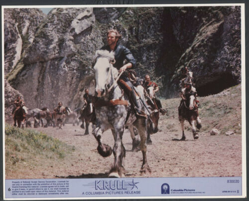 KEN MARSHALL RIDING A HORSE SCI FI VERY RARE Krull '83