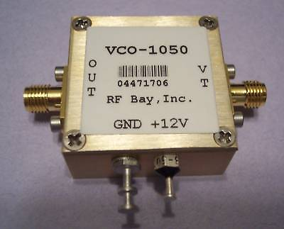 900-1200mhz Voltage Controlled Oscillator Vco-1050 Sma