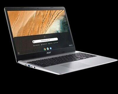 """Acer Chromebook 15.6"""" HD Intel N4000 4GB RAM 32GB Brand New"""