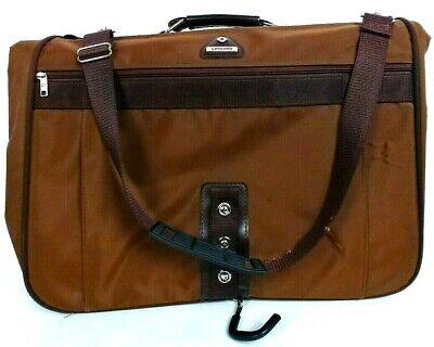 Samsonite Profile Travel Suit Garment Luggage Bag Brown Hanging