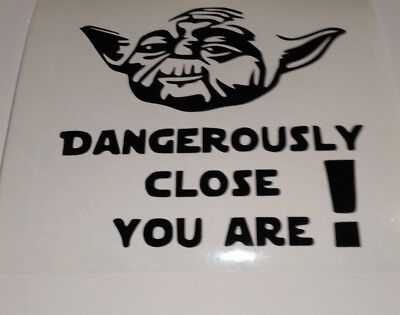 Yoda,car decal/ sticker for windows, bumpers , panels or Laptops