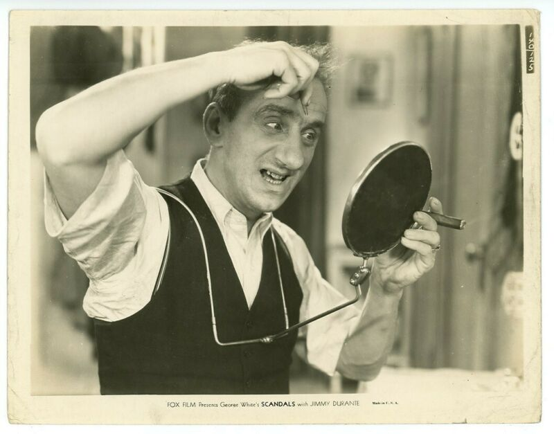 JIMMY DURANTE original movie photo 1934 SCANDALS