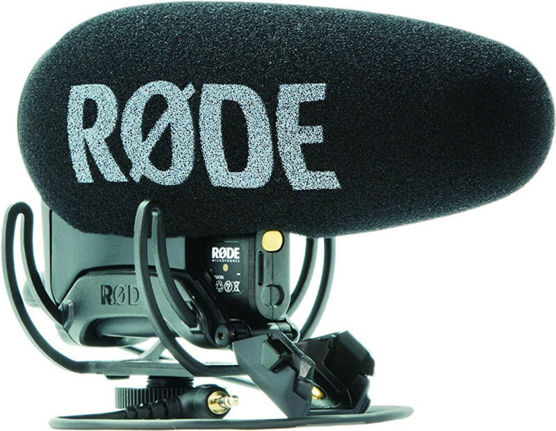 Rode Microphone VideoMic Pro-R+ Connect To Consumer Video Cameras and DSLRs