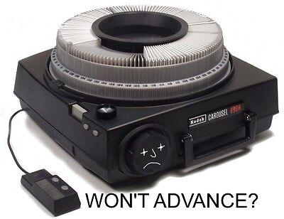 "Kodak Carousel  Projector ""ADVANCE"" Repair Kit -autofocus & remote focus control"