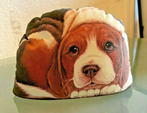 "BEAGLE ""Pupper-Weight"" by Leslie Anderson 2003 Door Stop Paperweight"