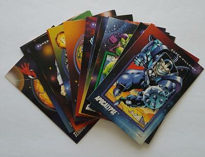 Marvel Villains Costumes (1992 Impel Marvel Universe