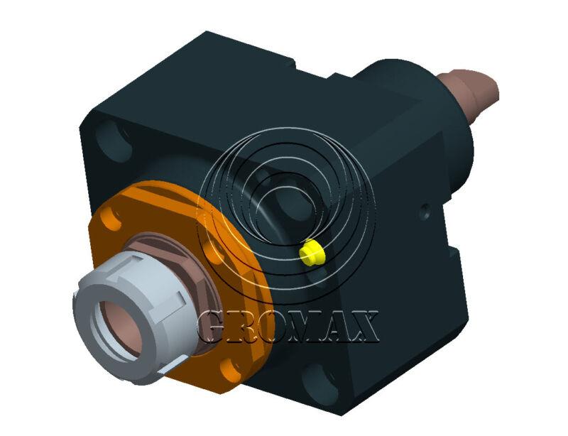 Nl1500-cw-da60-er32: Bmt 60 Axial Drilling Milling Head For Mori Seiki