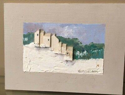 George Wazenegger Wood Collage Craftmen's Guild of Pittsburg
