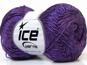 Purple Yarn Lot