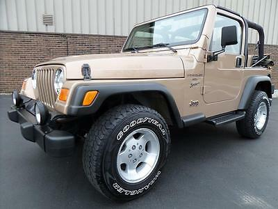 2000 Jeep Wrangler SPORT 2000 Jeep Wrangler SPORT 4.0L 6cyl Automatic, Air Conditioning, NEW SOFT TOP