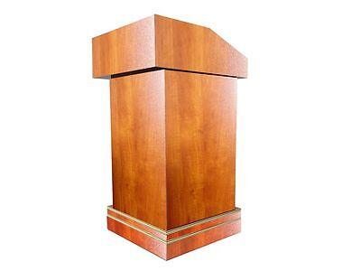 Deluxe Wood Podium Reception Restaurant Podium Reservation Desk Bell Desk11479