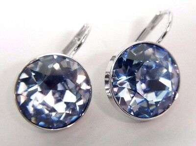 (BELLA LIGHT SAPPHIRE CRYSTAL PIERCED EARRINGS 2015 SWAROVSKI JEWELRY  5140843)