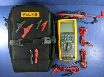 Fluke 289 Trms Multimeter Soft Case Excellent Calibrated Through 1-23-21