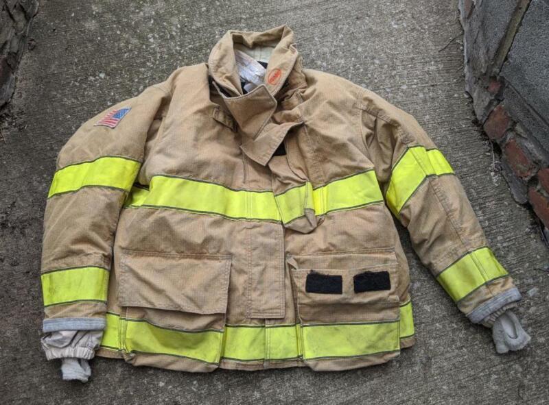 Globe Gxtreme Turnout Coat Firemans Bunker Coat 50/32 Monring Pride