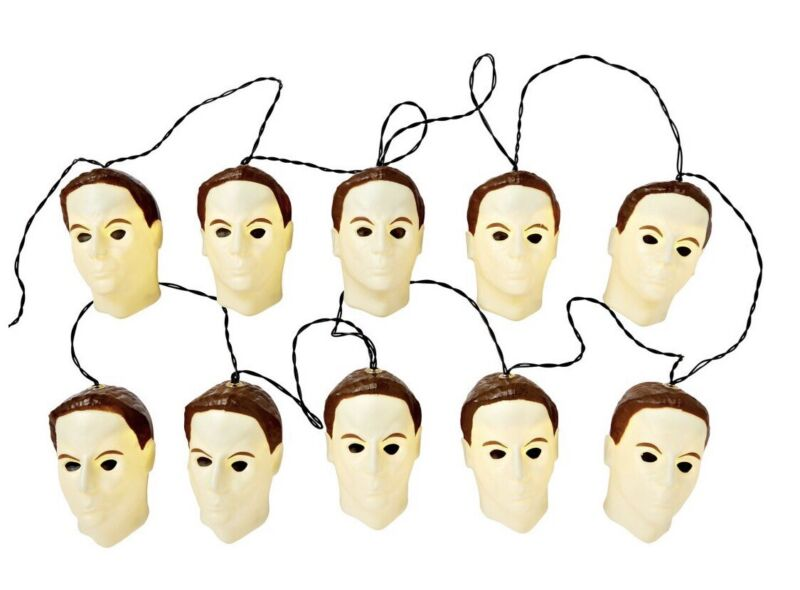 Michael Myers Halloween String Lights New
