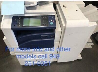 Xerox Work Center 7855 Color Copierprinterscanner Booklet Finisher
