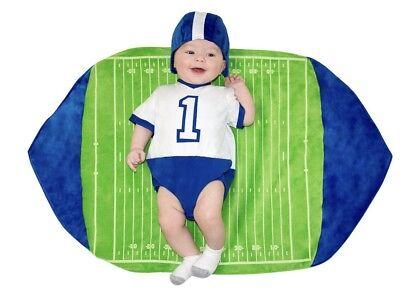 5132 Baby Football Player Costume Blanket Swaddle Wings Infant Newborn 0-3m BYU](Newborn Football Costume)