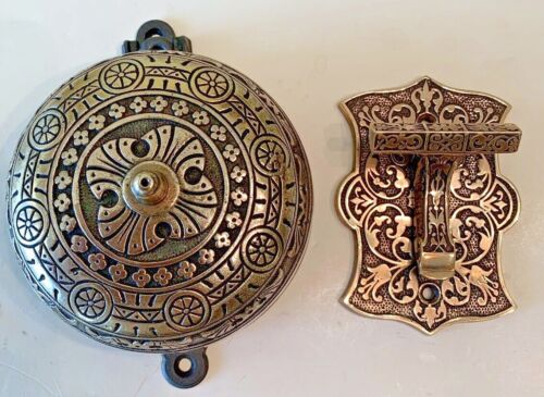 Victorian Double Strike Doorbell And Lever