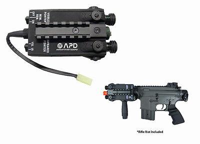 JG PEQ Battery Box 10.8v Airsoft AEG Rifles 1100 mAh capacit