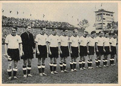 AK 4359 Postkarte / Mannschaftskarte - Deutschland - Weltmeister 1954