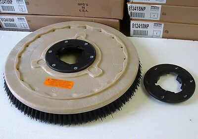 Grit Brush 17 Floor Buffer.replaces Black Pads 1 Free Np9200 Plate