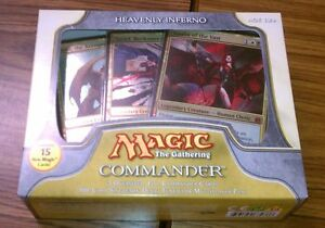 1-Heavenly-Inferno-SEALED-Commander-Deck-MtG-Magic-1x-x1-White-Black-Red