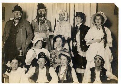 Buffalo Ny Halloween Costumes (Vintage Photo of People in Halloween ? Costumes smoking pipes,  Buffalo,)