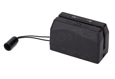 Mini Portable Magnetic Magstripe Card Reader Collector